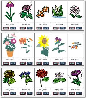 夏の花イラスト素材まとめ5