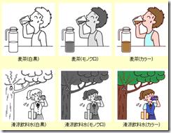 熱中症・夏バテのイラストまとめ5