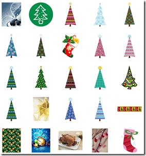 クリスマスイラスト素材まとめ25
