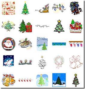 クリスマスイラスト素材まとめ28