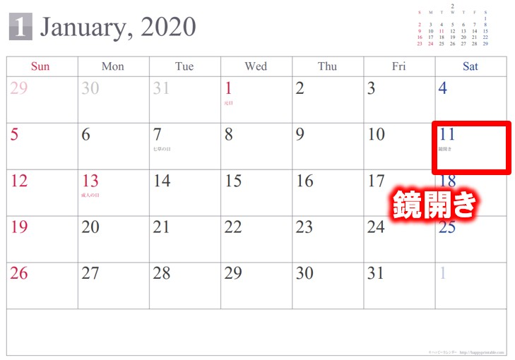 2020年の鏡開きの日にちはいつ?関東と関西の違い・行事の意味について ...