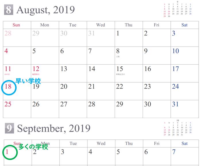 小学校 夏休み いつから 2019 小学校の夏休みの期間 2019年版!夏休みはいつからいつまで?